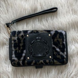 Juicy Couture Cheetah Wristlet